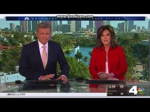 KNBC NBC 4 News at 4pm open September 21, 2017