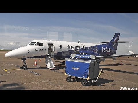 Eastern Airways Jetstream41 | Anglesey - Cardiff | Full flight report 2018