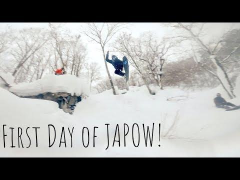 Snowboarding INSANE Japan Powder Hakuba 2019