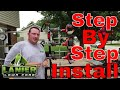 Howto step by step install  equipment defender trimmer racks