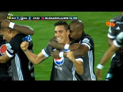 Liga Aguila | Fecha 3 Bucaramanga 1-3 Millonarios