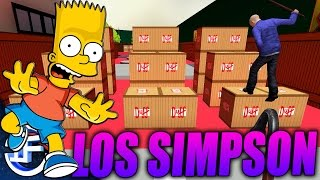 LOS SIMPSON DEATH RUN!! - Garry`s Mod - C/ Willyrex, AlexBY11 y xFarganx