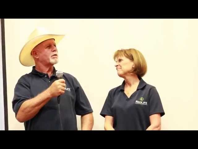 Overcoming MS with Whole Food Nutrition - Jim & Nancy Berna - NeoLife Testimon