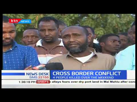Three out of four bodies of herders who were shot dead at Garissa-Isiolo border recovered