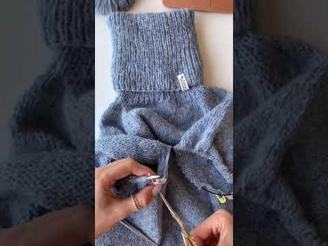Любимый свитер. Вязание 2х рукавов одновременно. Magic Loop