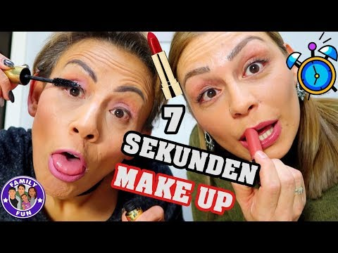Download Youtube: 7 SEKUNDEN MAKE-UP💄CHALLENGE + OUTTAKES + Verlosung - FAMILY FUN