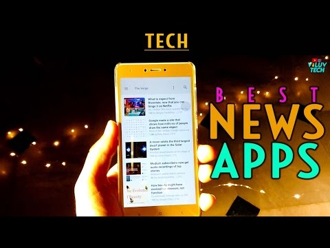 Best News Apps for iOS, Android & iPhone 2017 Top Tech 5!