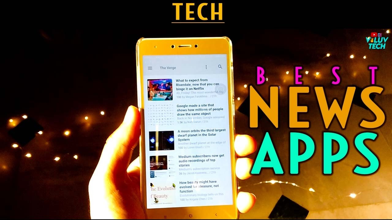 best news apps for ios android iphone 2017 top tech 5 youtube. Black Bedroom Furniture Sets. Home Design Ideas