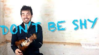 DON'T BE SHY - Ukulele Tutorial easy (alternate chords + cool strumming loop) Cat Stevens