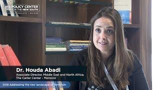Interview Houda Abadi (The Carter Centre, Morocco)