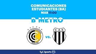 CSD Comunicaciones vs Club Atletico Estudiantes full match