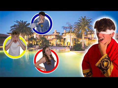 MEGA MANSION HIDE N SEEK! FAMOUS Youtubers... (ft. Piper Rockelle) THE SQUAD
