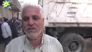 بالفيديو:انهيار منزل بمنطقة كفر سليم بحي الأربعين بالسويس