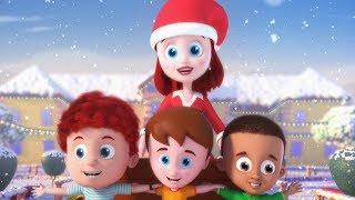 Jingle Bells   Christmas Song   Fun Christmas Video for kids
