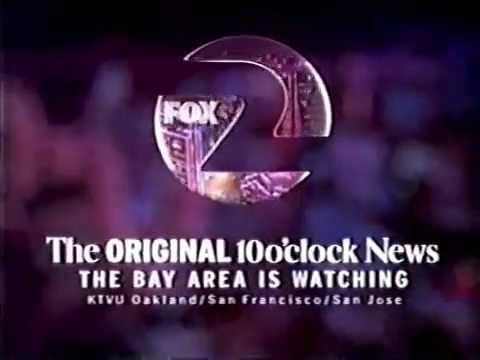 KTVU 1998 1999 and 2000 Dennis Richmond & Leslie Griffith News Promos - SF Bay Area 90s