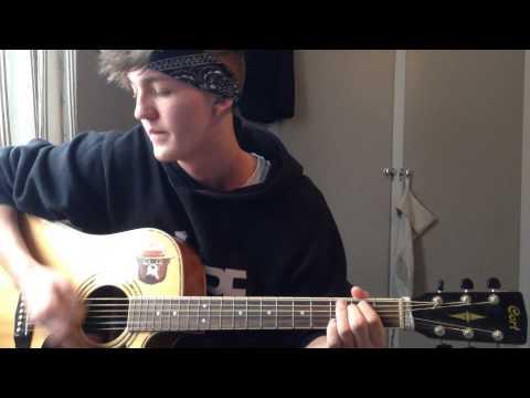 Machine Gun Kelly - Swing life away (Acoustic cover)