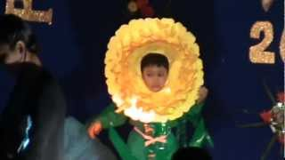 Marigold flower - Rishi in his first stage performance