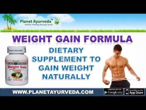 Herbal Supplement To Gain Weight Naturally - Weight Gain Formula