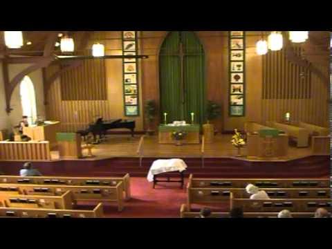 9-1-13 Musical performance by guest organist Nichole Fehrman