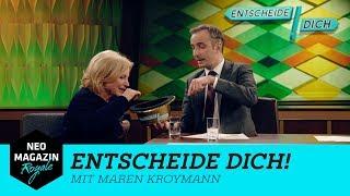 Entscheide dich! mit Maren Kroymann | NEO MAGAZIN ROYALE mit Jan Böhmermann - ZDFneo