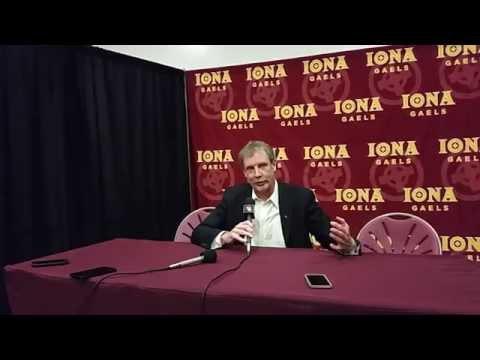Iona Coach Tim Cluess Post 92-77 Win Over Delaware