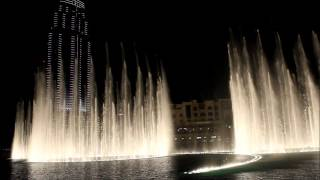 Dubai - Burj Khalifa - Water Fountain I - Bassbor Al Fourgakom