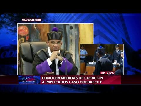 Transmisión en directo de CDN 37 Medidas de coerción Odebrecht #NCDNOdebrecht