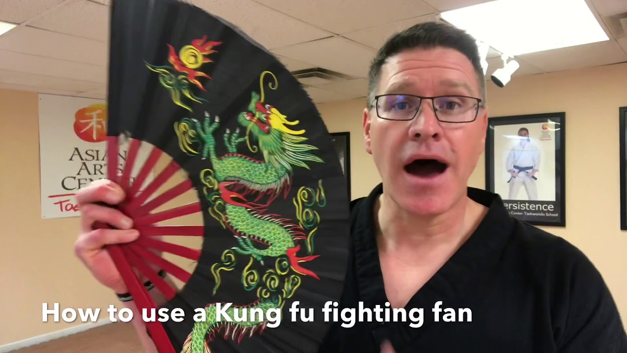 how to make martial arts fan