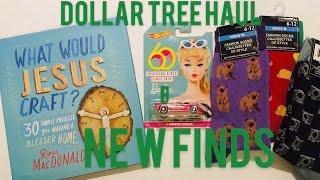 💚 DOLLAR TREE HAUL | NEW FINDS🌲