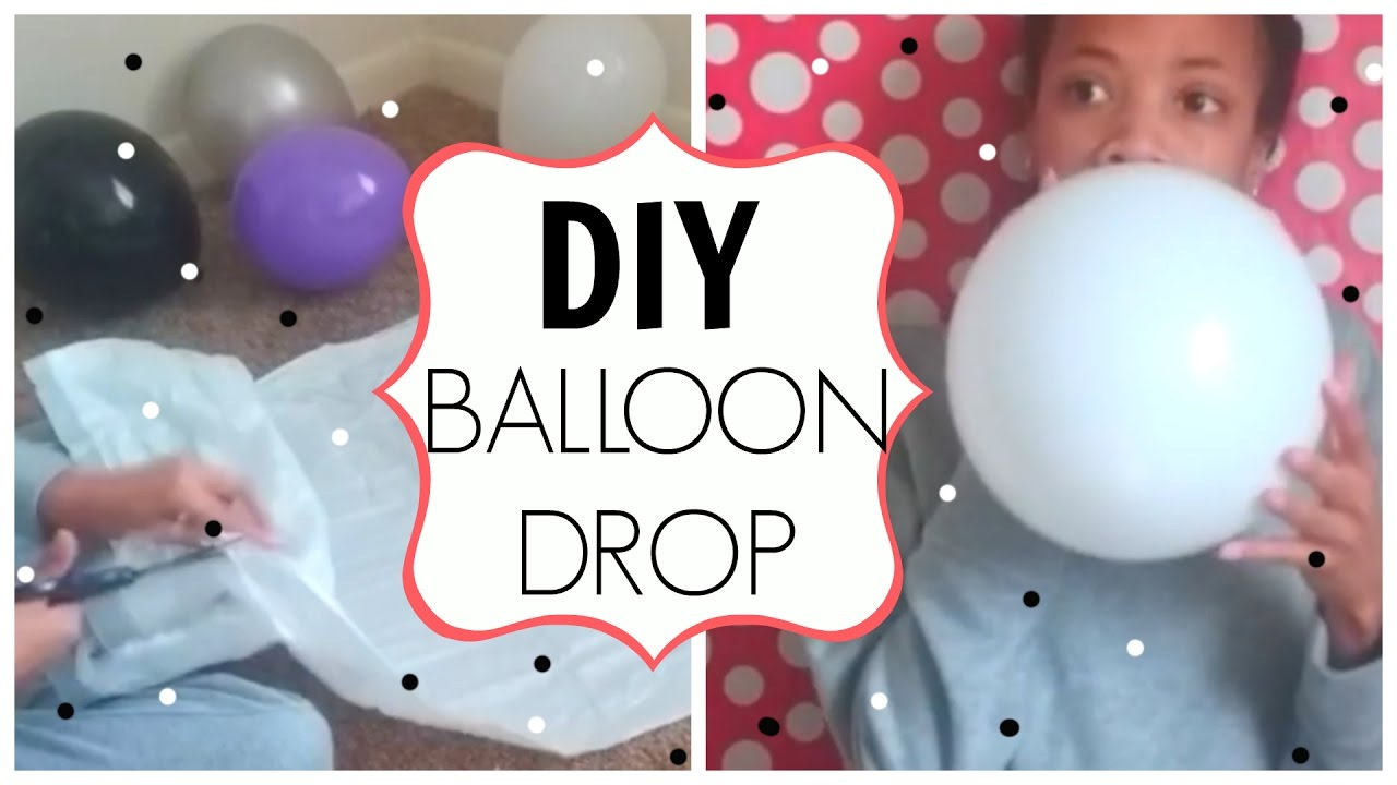 12 Days of DIYS Making a DIY Balloon Drop Day 12 YouTube