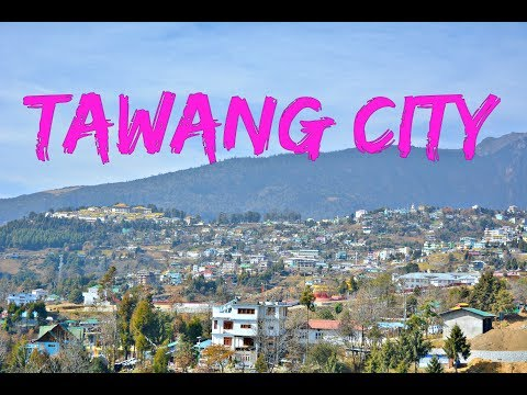 Beautiful Tawang City Walk | Arunachal Pradesh India HD
