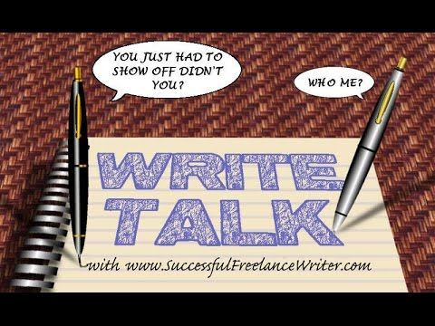 #WriteTalk - Tips and Strategies for Organized Write