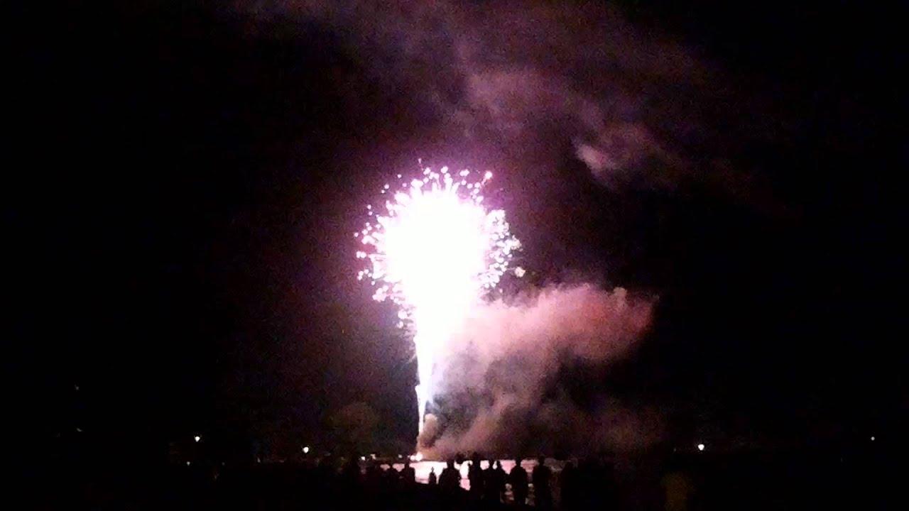 Sylvan beach fireworks