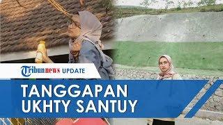 Download lagu VIDEO Pengakuan Wanita yang Viral karena Joget di Atas Pagar dengan Santai Dijuluki Ukhti Santuy MP3