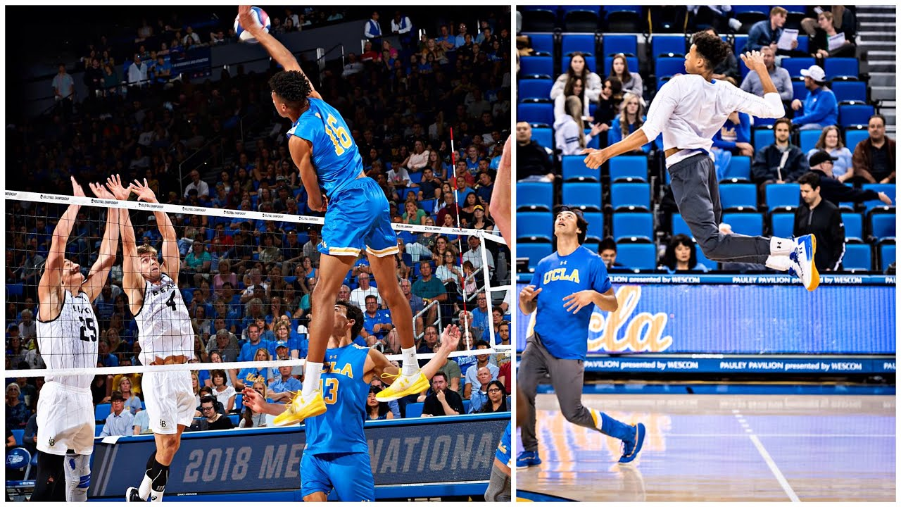 372cm Monster of the Vertical Jump - Daenan Gyimah (HD)