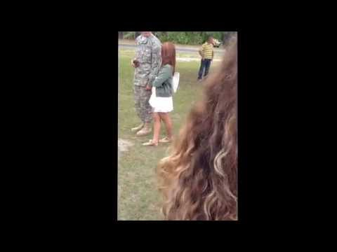 Sweet Marriage Proposal-Army Style
