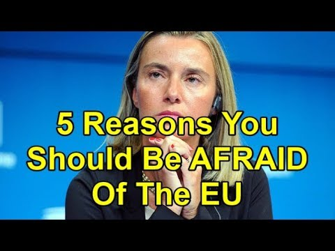 5 Reasons You Should Be AFRAID Of The EU