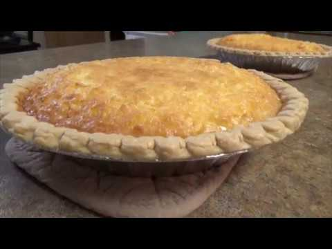 French Coconut Pie From Scratch