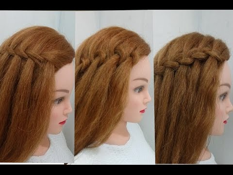 4 types of waterfall braid easy