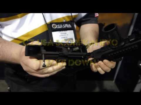 CZ USA Scorpion Evo 3 take down demonstration