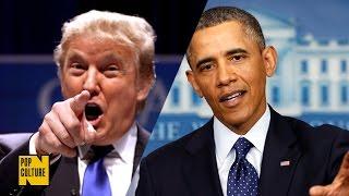 TRUMP vs OBAMA:rap battle ita