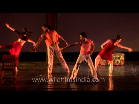 4th Indo European Dance Festival (IEDF) 2013 at Russian centre of science and culture (RCSC)