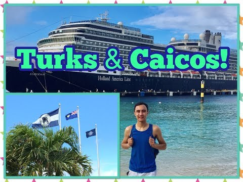 Exploring Grand Turks and Caicos! Eurodam! Caribbean Cruise Travel Vlog!