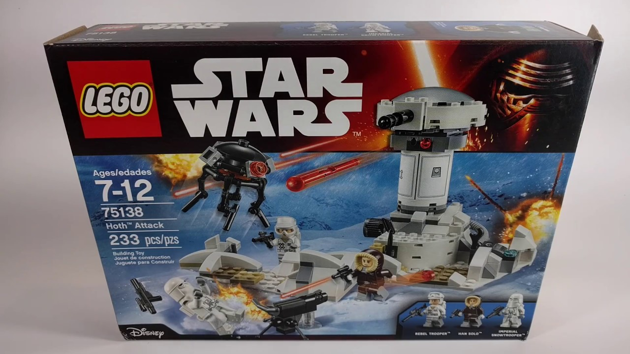 LEGO Star Wars 75138 Hoth Rebel Trooper + Hoth Attack