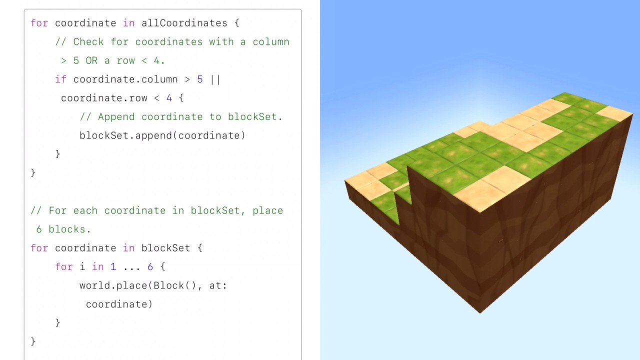 Swift Playground Tutorial : Learn to Code 2 - 37 Appending to an Array