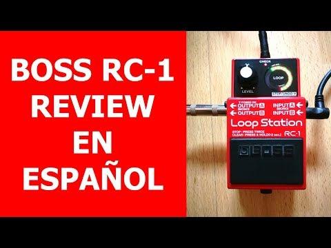 BOSS RC-1 Review en ESPAÑOL