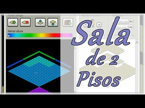 Sala de 2 pisos y floor habbo desing habbo tutorial for Sala de estar habbo