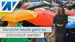 Vorsicht! Heute neuer Sturm über Deutschland! (Mod.: Adrienne Jeske)