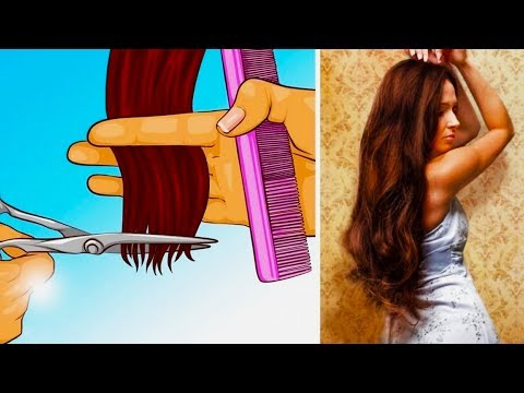 12 HAIR TIPS FOR GROWING LONG AND HEALTHY HAIR