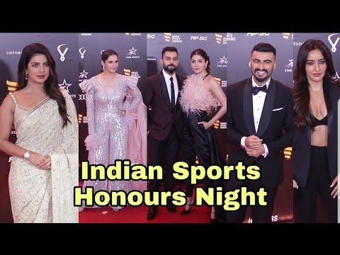 Virat Kohli Foundation's Indian Sports Honours Night | Virat-Anushka, Sania, Arjun